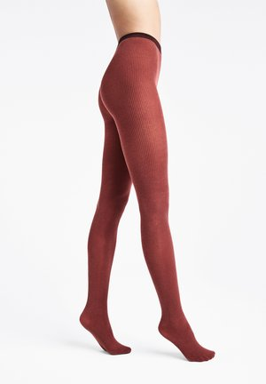 Tights - chateau/red rust
