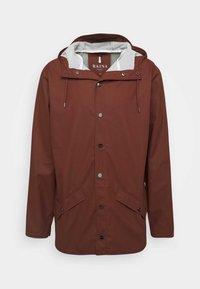 Rains - JACKET UNISEX - Lehká bunda - maroon - 0