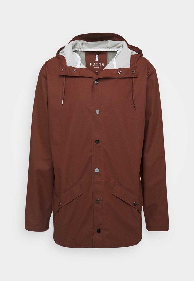 JACKET UNISEX - Summer jacket - maroon