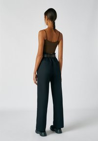 PULL&BEAR - Broek - mottled black - 2