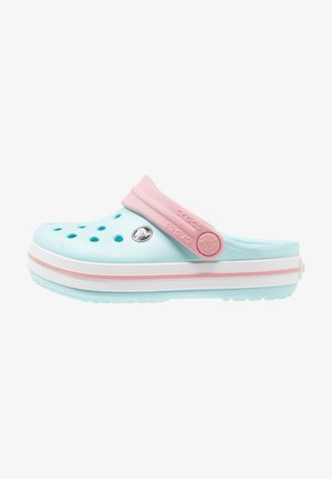 CROCBAND RELAXED FIT - Pool slides - ice blue/white