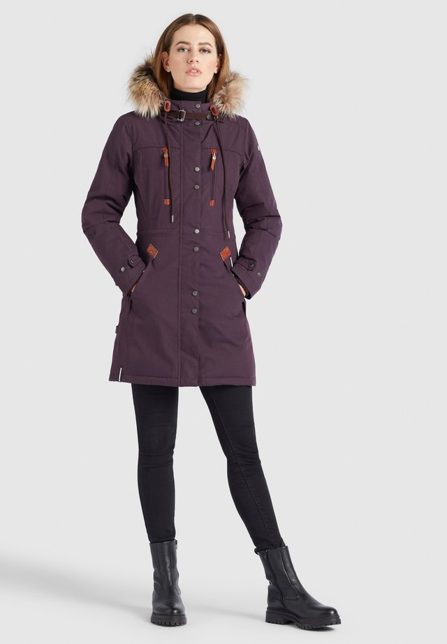 ROANA - Cappotto invernale - weinrot