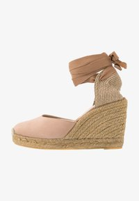 ALDO - MUSCHETT - Wedge sandals - bone - 1