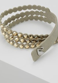 Swarovski - POWER BRACELET SLAKE - Bransoletka - golden shadow - 4
