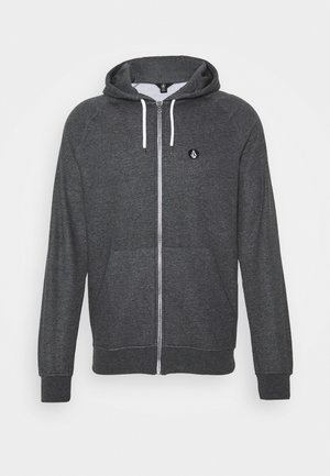 TIMESOFT ZIP - Zip-up hoodie - anthracite