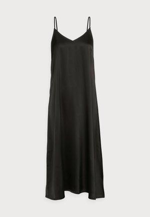 CLEAR SINGLET DRESS - Kjole - black