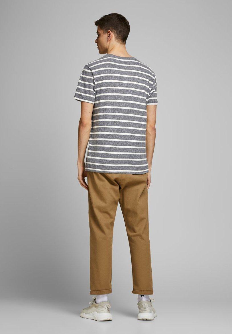 Jack & Jones Print T-shirt - grey melange T0IX9