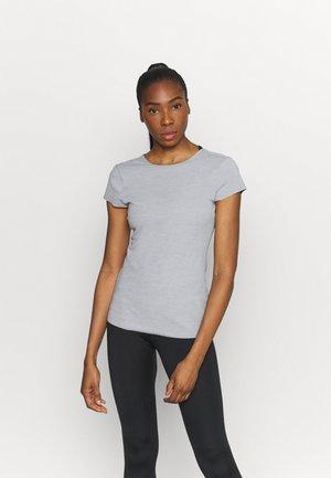 INFINALON - Basic T-shirt - particle grey/platinum tint