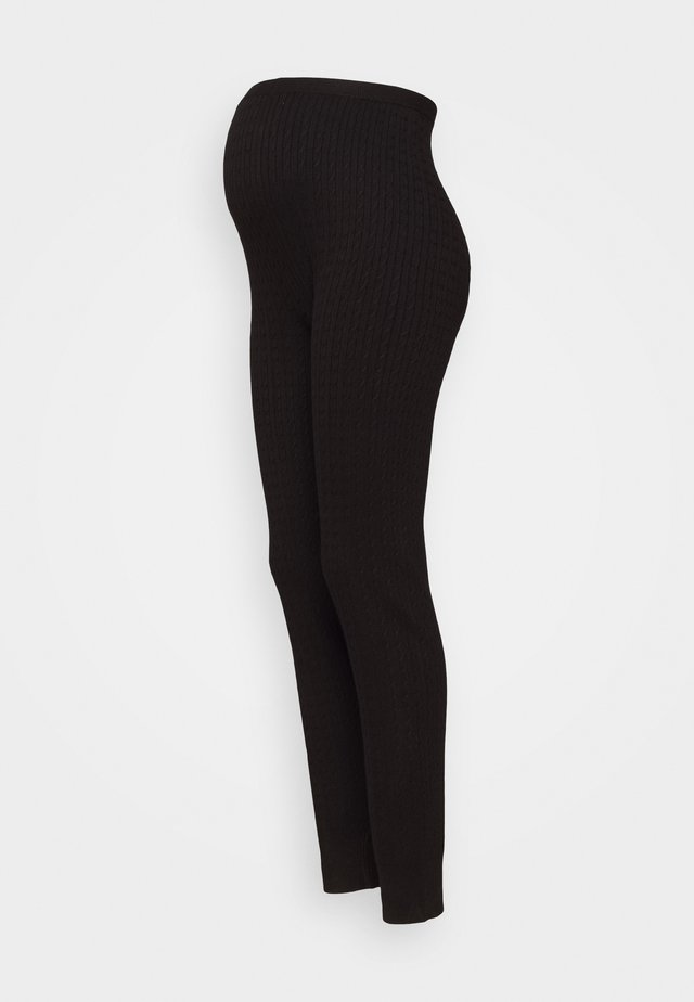 cable knitted legging co-ord - Legging - black