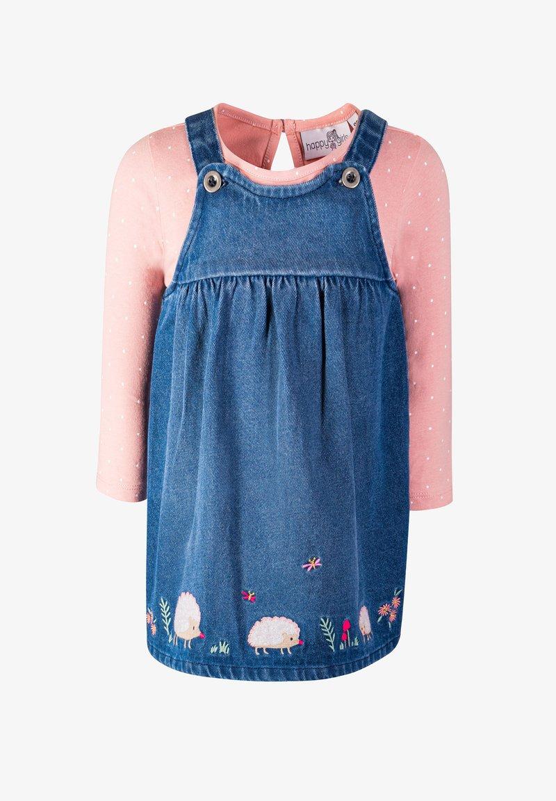 happy girls - SET - Denim dress - jeans blue