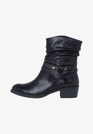 Classic ankle boots - black snake co