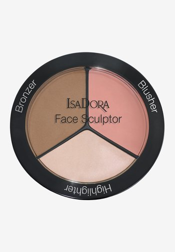 FACE SCULPTOR - Face palette - warm peach
