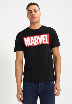 MARVEL - LOGO - Print T-shirt - black