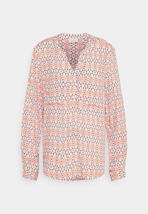 MALY BLOUSE - Pusero - chalk/orange