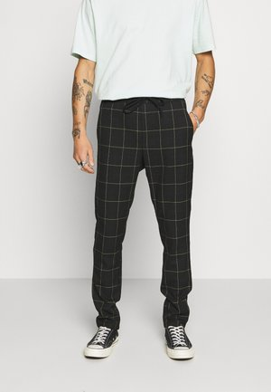 ONSLINUS LONG CHECK  - Pantaloni - black