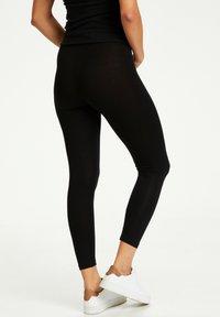 Kaffe - KAGILA  - Leggings - Trousers - black deep - 2
