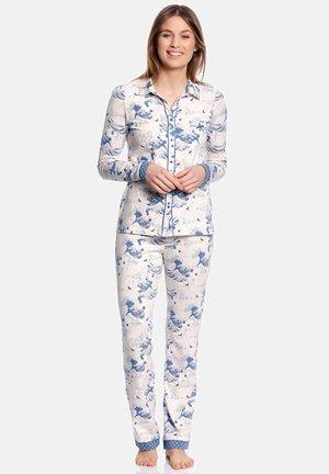 SCHLAFANZUG SUKI  - Pyjama set - creme/allover