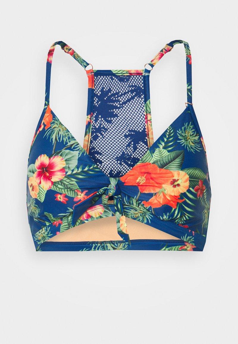 Brunotti - JAANA WOMENS - Bikini top - deep blue