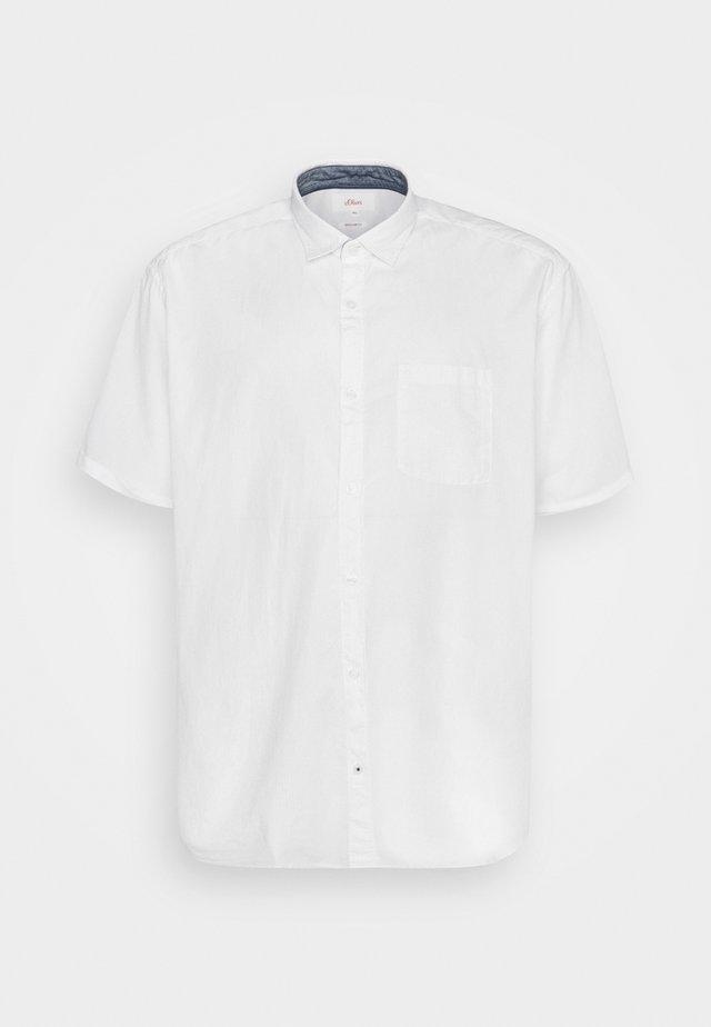 KURZARM - Camicia - white