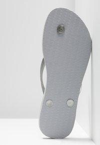Havaianas - SLIM GLITTER - Pool shoes - steel grey - 6