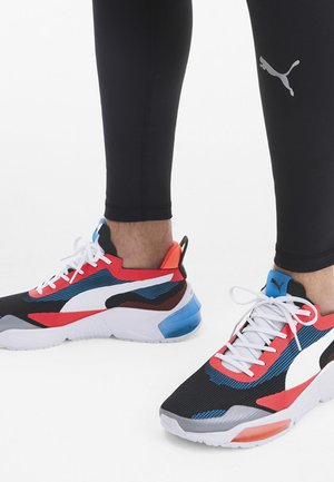 PUMA LQDCELL OPTIC XI RUNNING SHOES MALE - Neutral running shoes - white/pal blue/l blast