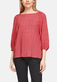 s.Oliver - Blouse - true red embroidery - 4