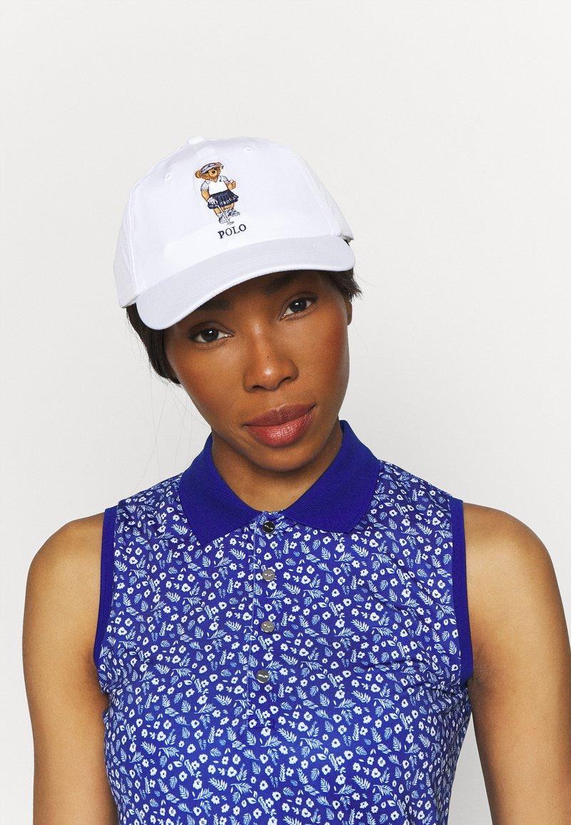 Polo Ralph Lauren Golf - BEAR HAT - Cap - pure white