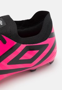 Umbro - VELOCITA VI PREMIER FG - Moulded stud football boots - pink peacock/black/white - 5