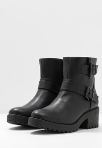 Madden Girl - LAURREL - Cowboy/biker ankle boot - black - 4