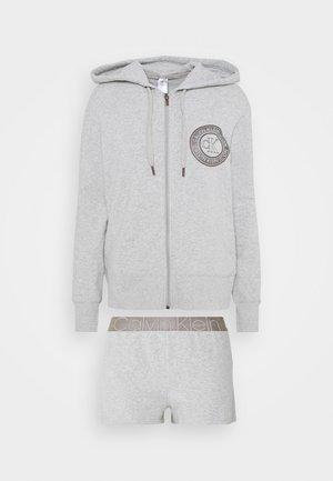 ICONIC LOUNGE SLEEP - Pyjamasbukse - grey heather