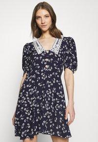 River Island - Shirt dress - dark blue - 3