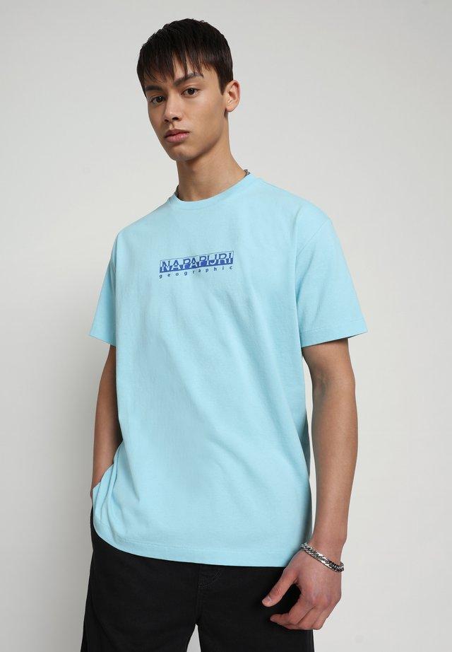 BEATNIK - T-shirt print - green plume