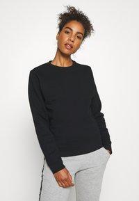 Björn Borg - HELENA CREW - Sweatshirt - black beauty - 0