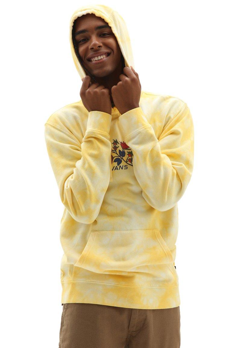 Vans - MN TIE DYE PO - Hoodie - mellow yellow/tie dye