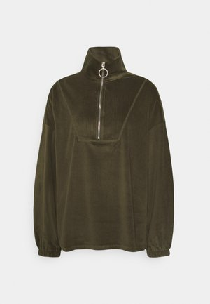 ONLAZZA ZIP - Sweatshirt - grape leaf