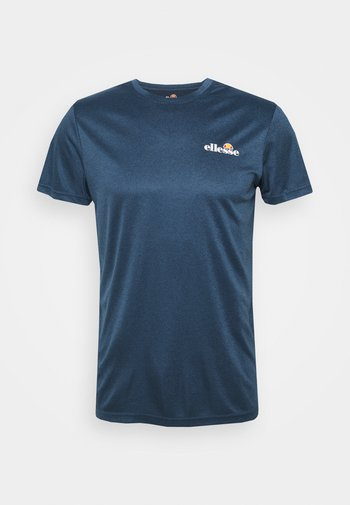 MALBE TEE - Basic T-shirt - navy marl