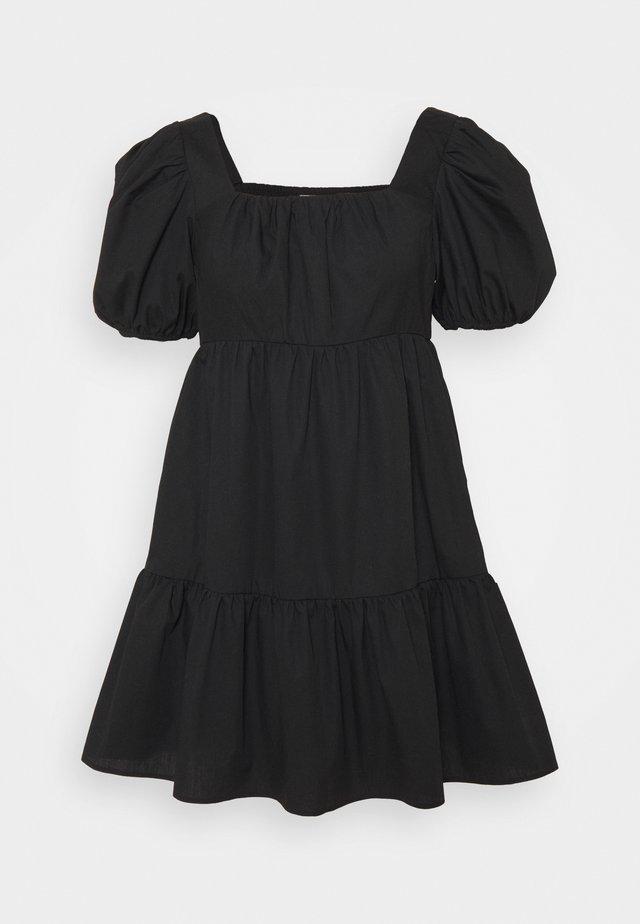 PETITES MIDI DRESS - Korte jurk - black