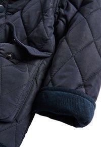 Next - KHAKI QUILTED JACKET (3MTHS-7YRS) - Winter jacket - blue - 3