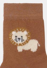 Ewers - LION 2 PACK - Socks - dark blue/brown - 2