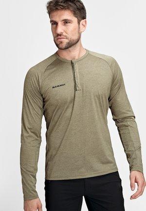 CRASHIANO - Long sleeved top - tin melange