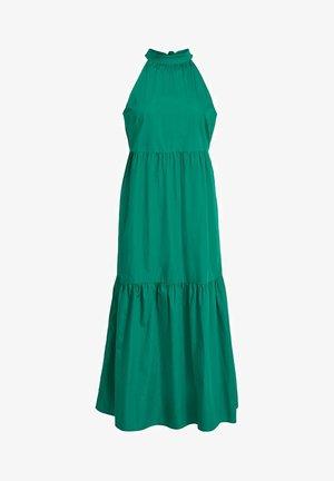 MAXIKLEID ÄRMELLOSES RÜSCHEN - Maxi dress - ultramarine green