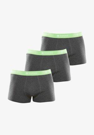 3 PACK - Pants - grau - grün