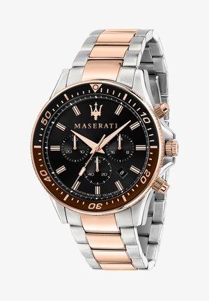 SFIDA - Chronograph watch - silber/rose gold