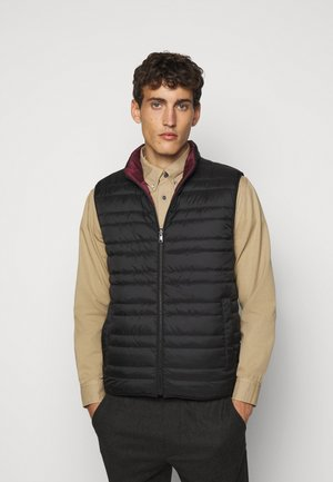 FILLED VEST - Chaleco - black