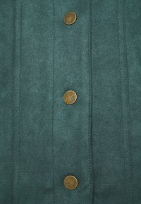 Springfield - Faux leather jacket - green - 2