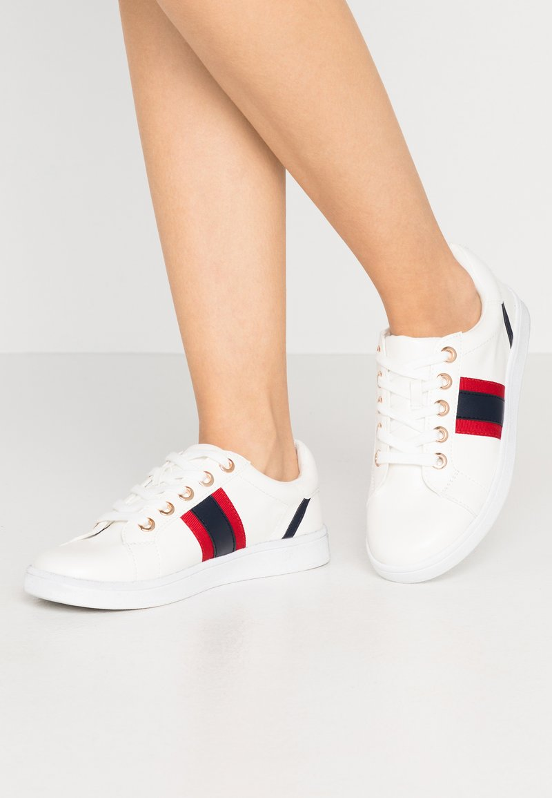 River Island Wide Fit - Sneakersy niskie - white