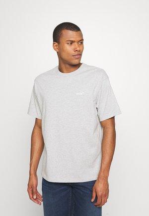 TAB VINTAGE TEE UNISEX - T-shirt basic - light mist heather