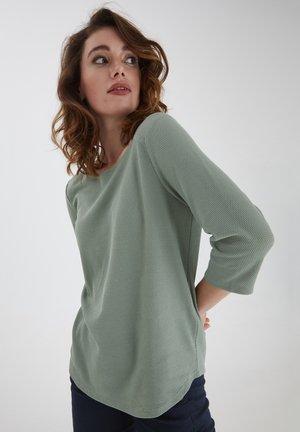 FRPEJACQ 1 - Long sleeved top - mottled light green