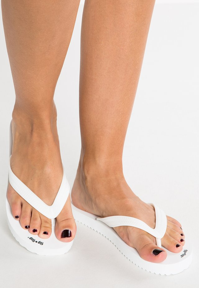 ORIGINAL - Teenslippers - white