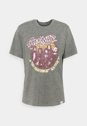 ONSAEROSMITH LIFE - Print T-shirt - medium grey melange